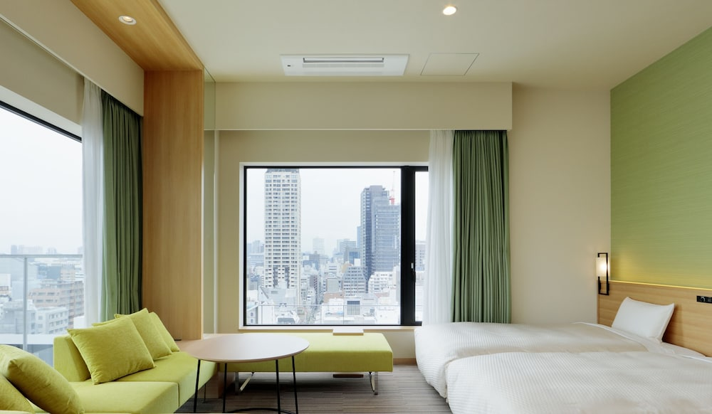 View from Room, Candeo Hotels Osaka Namba