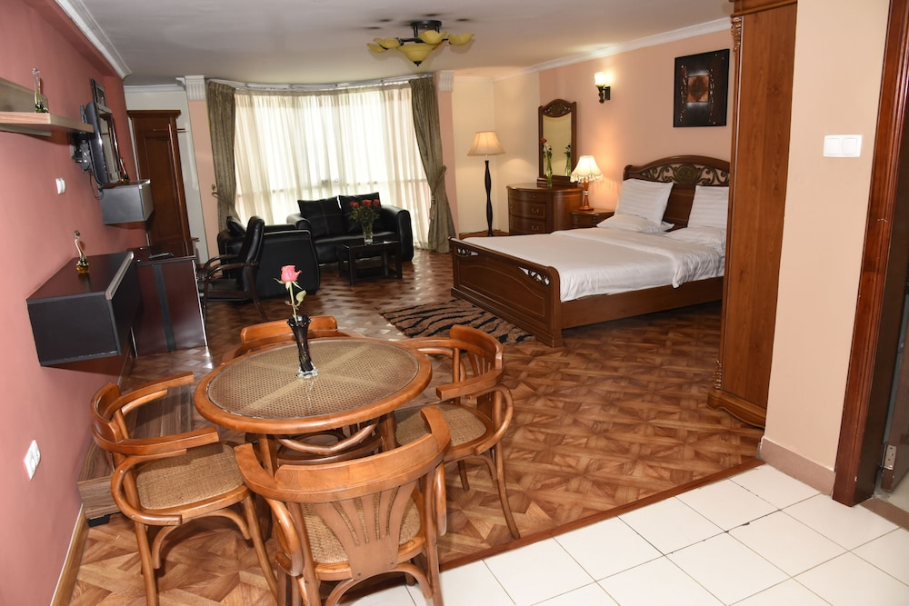 Room, Diplomat Luxury Furnished Apartments
