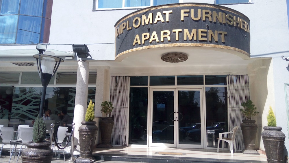 Front of Property, Diplomat Luxury Furnished Apartments
