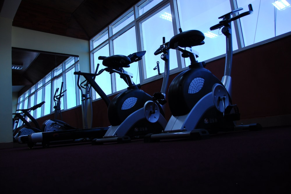 Gym, Diplomat Luxury Furnished Apartments