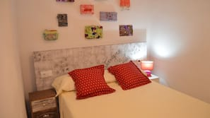 3 dormitorios, cortinas opacas, cunas o camas infantiles gratuitas