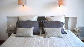 1 chambre, literie de qualité supérieure, coffre-forts dans les chambres