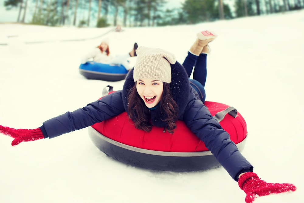 Snow tubing, Natura Treescape Resort