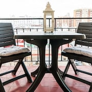Apartment 750 m From the Center of Seville With Lift, Terrace, Washing Machine
