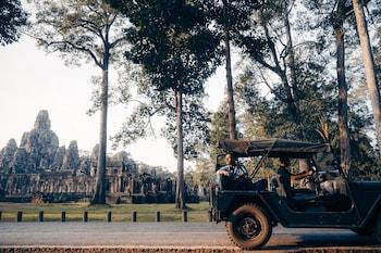 Sala Kamreuk Village, City, Krong Siem Reap, Cambodia.