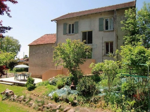 Nice Spacious Holiday Home With Shared Pool in a Small Village in Auvergne