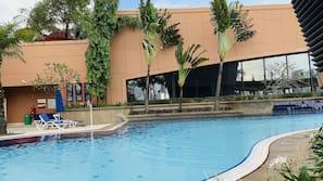 3 個室外泳池
