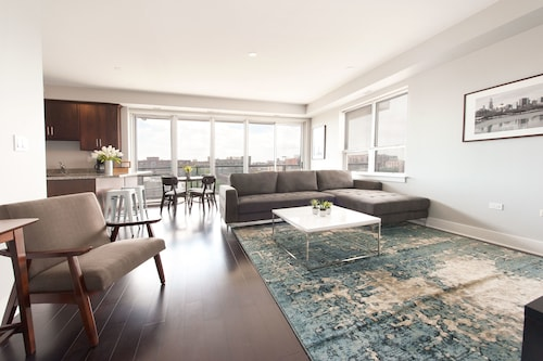 Check Expedia for Availability of Sleek 2BR near Restaurant Row by Sonder