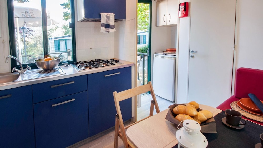 Private Kitchen, Glamping Village Orlando in Chianti