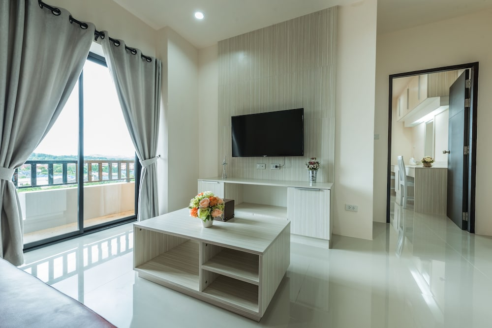 Living Area, At One Hotel Chiangrai