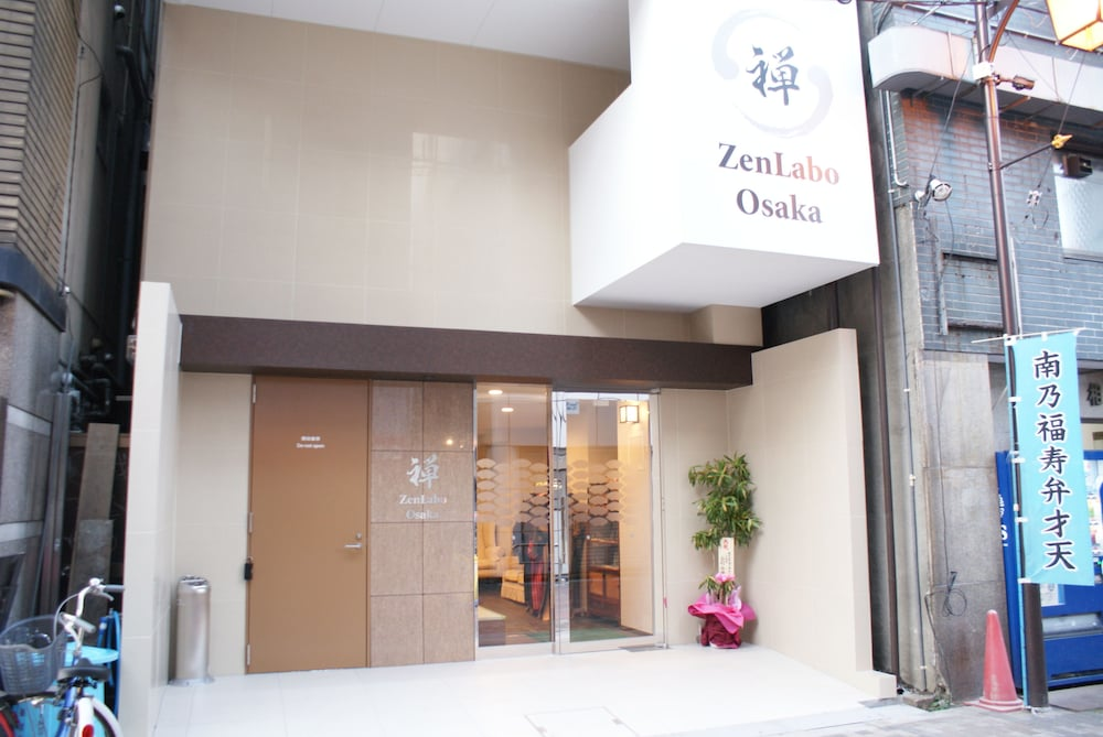Property Entrance, ZenLabo Osaka - Hostel