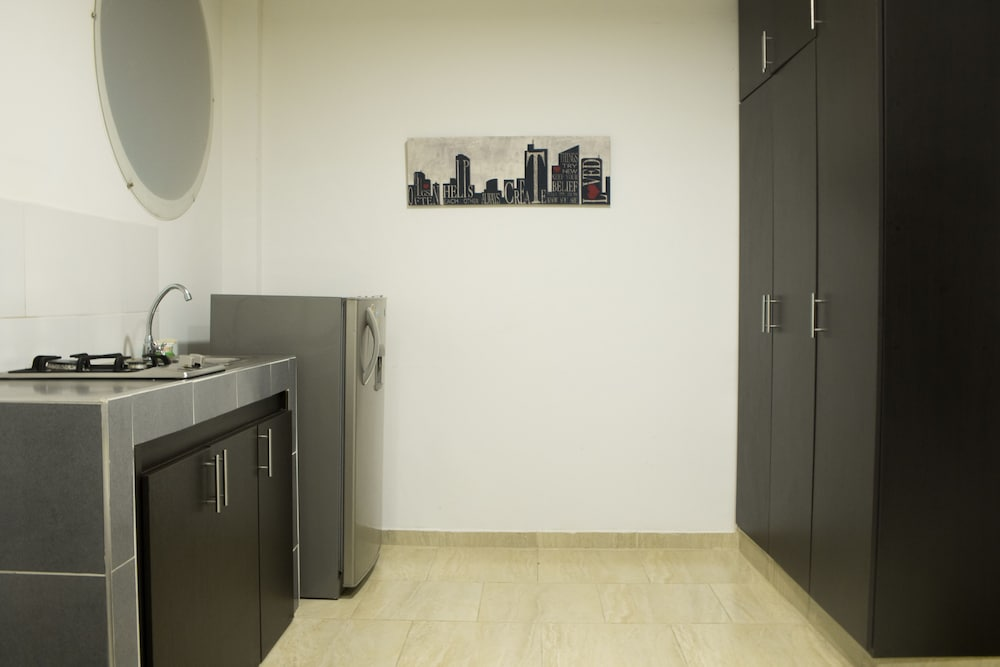 Private Kitchenette, Apartamentos Amoblados El Ingenio