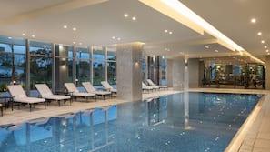 Indoor pool, outdoor pool, pool cabanas (surcharge), pool umbrellas