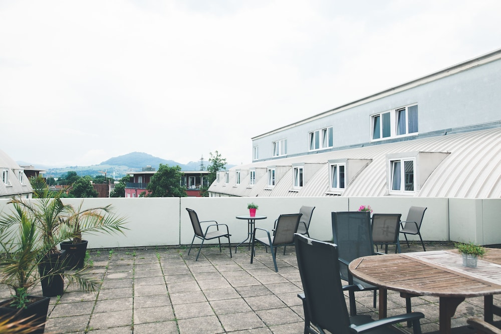 Terrace/Patio, StayInn Freiburg Hostel & Guesthouse