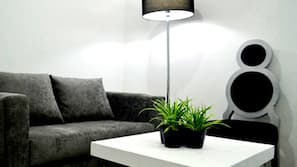 Una televisión LED