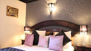In-room safe, individually decorated, blackout curtains, rollaway beds