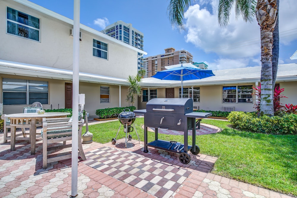 BBQ/Picnic Area, Sea Steps Suites