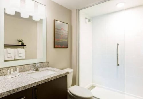 Bathroom, TownePlace Suites by Marriott Detroit Canton