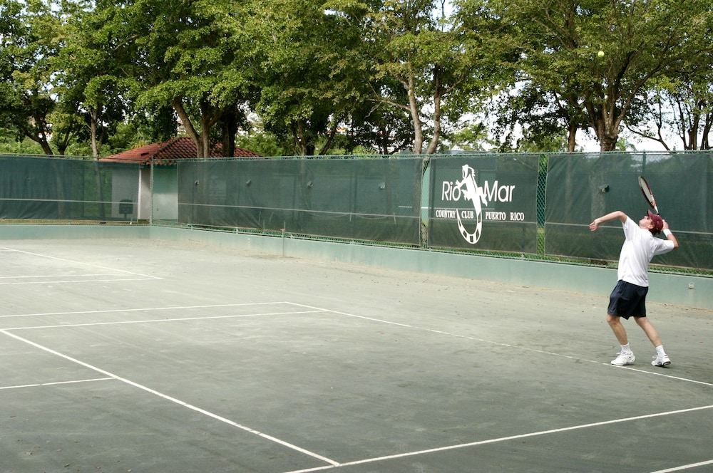 Tennis Court, VPR Apartments- Ocean Villas at Rio Mar