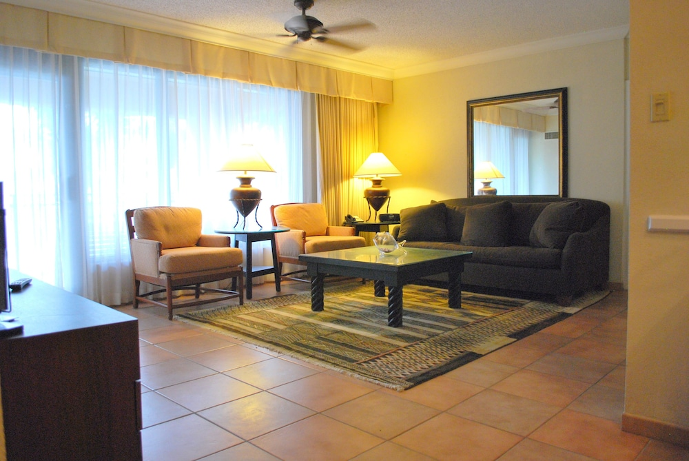 Living Room, VPR Apartments- Ocean Villas at Rio Mar