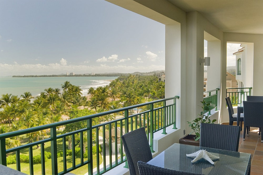Balcony View, VPR Apartments- Ocean Villas at Rio Mar