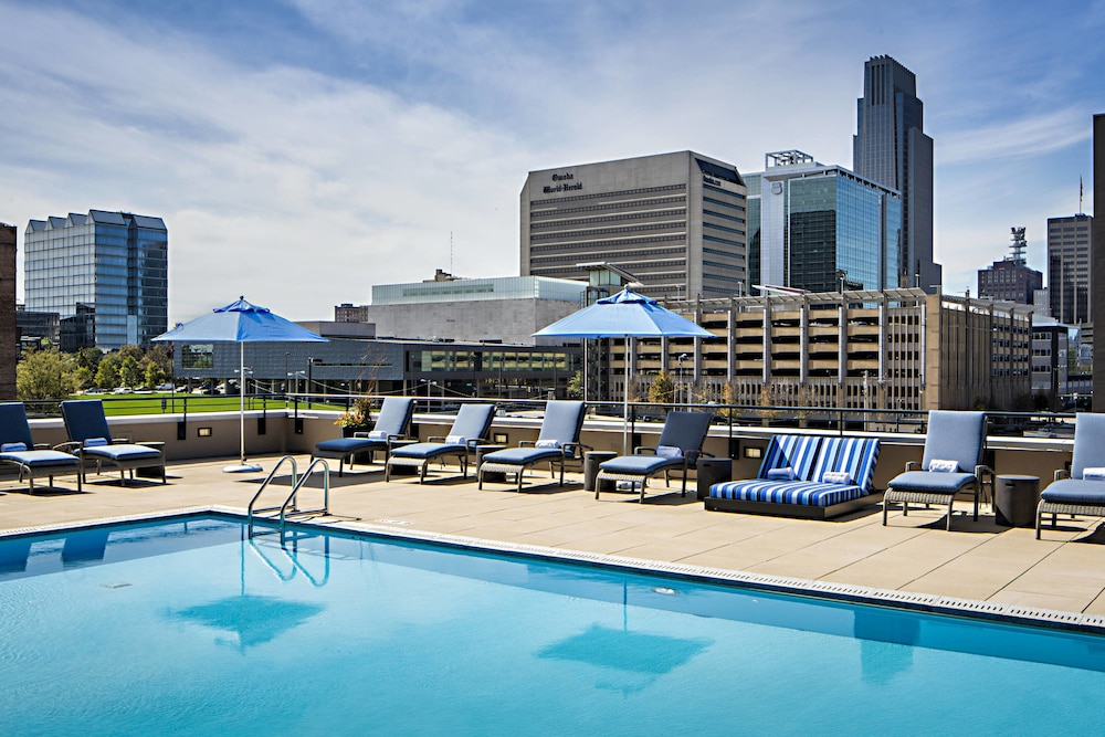 Outdoor Pool, Omaha Marriott Downtown at the Capitol District
