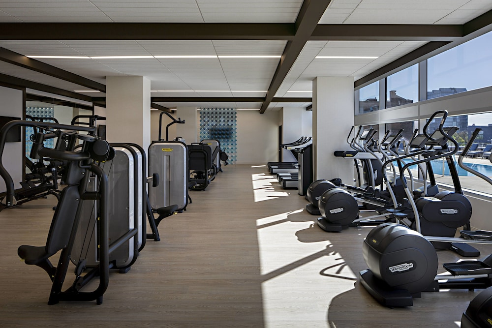 Fitness Facility, Omaha Marriott Downtown at the Capitol District