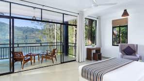 Premium bedding, minibar, soundproofing, iron/ironing board