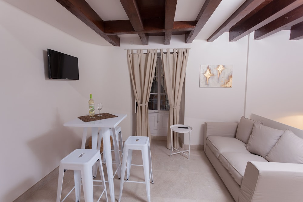 Living Area, Can Savella Apartments