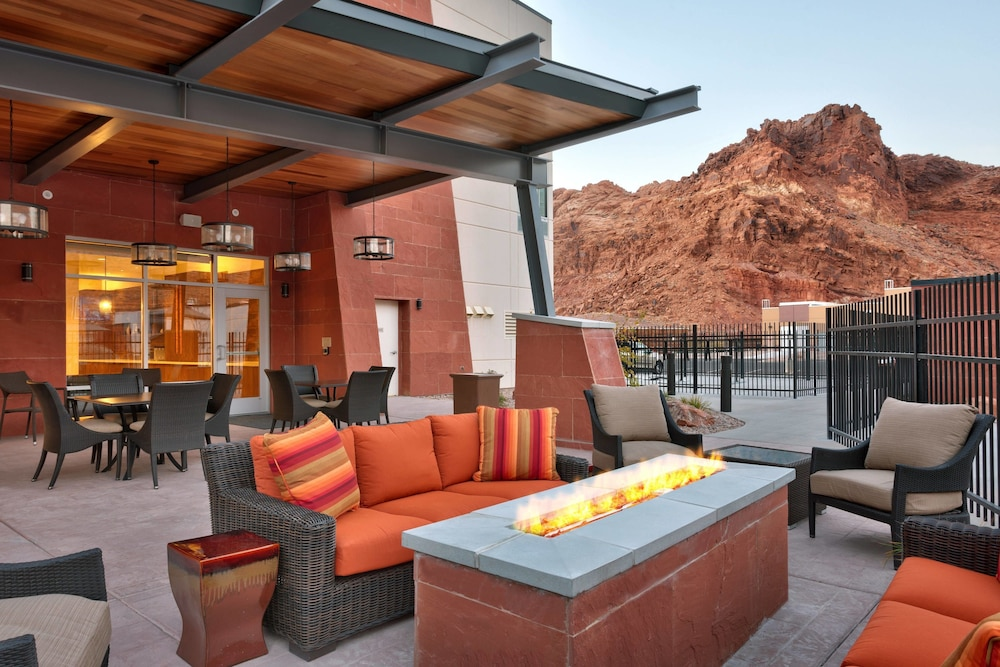 Terrace/Patio, SpringHill Suites by Marriott Moab