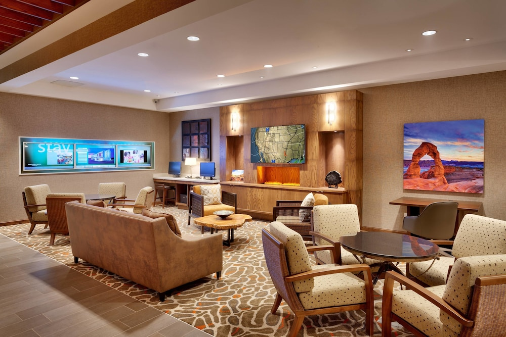 Lobby, SpringHill Suites by Marriott Moab