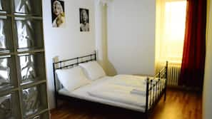 Lydisolering, strygejern/strygebræt, gratis Wi-Fi, sengetøj
