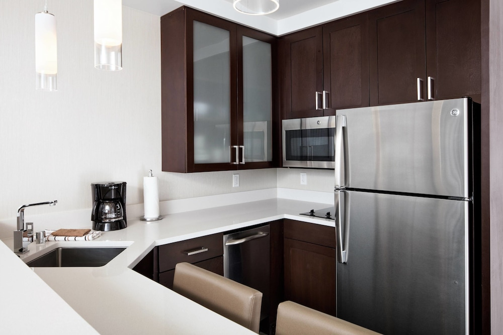Private Kitchenette, Residence Inn by Marriott San Jose Cupertino