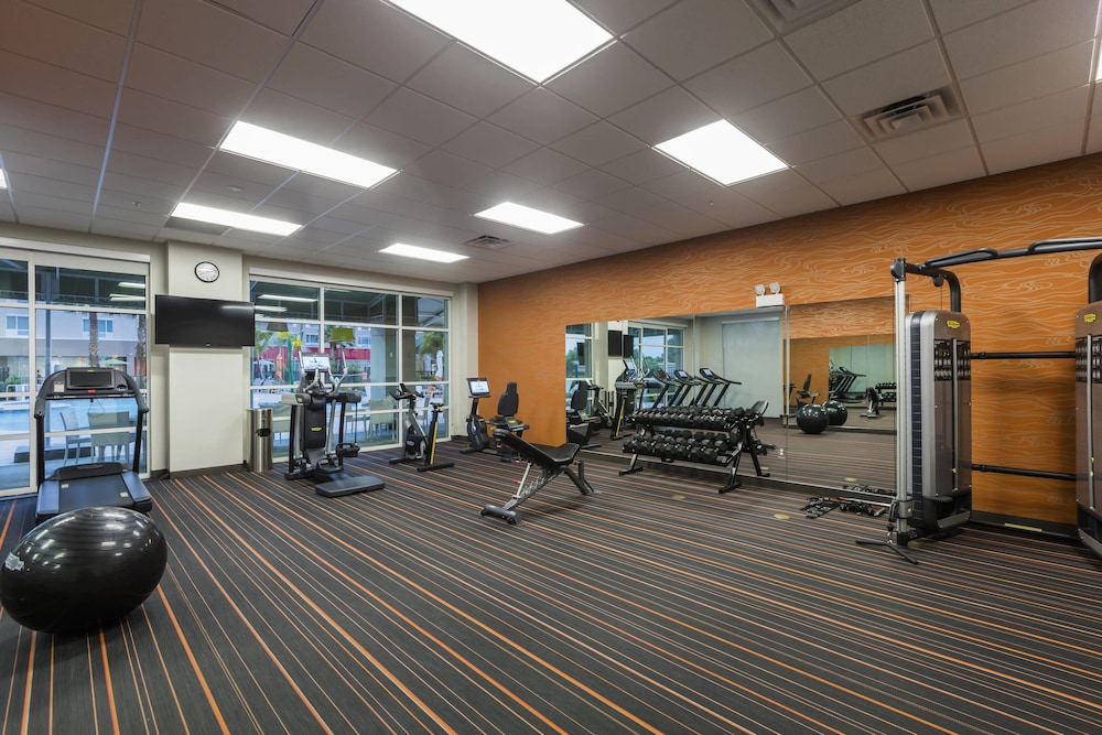 Fitness Facility, TownePlace Suites by Marriott Orlando at SeaWorld