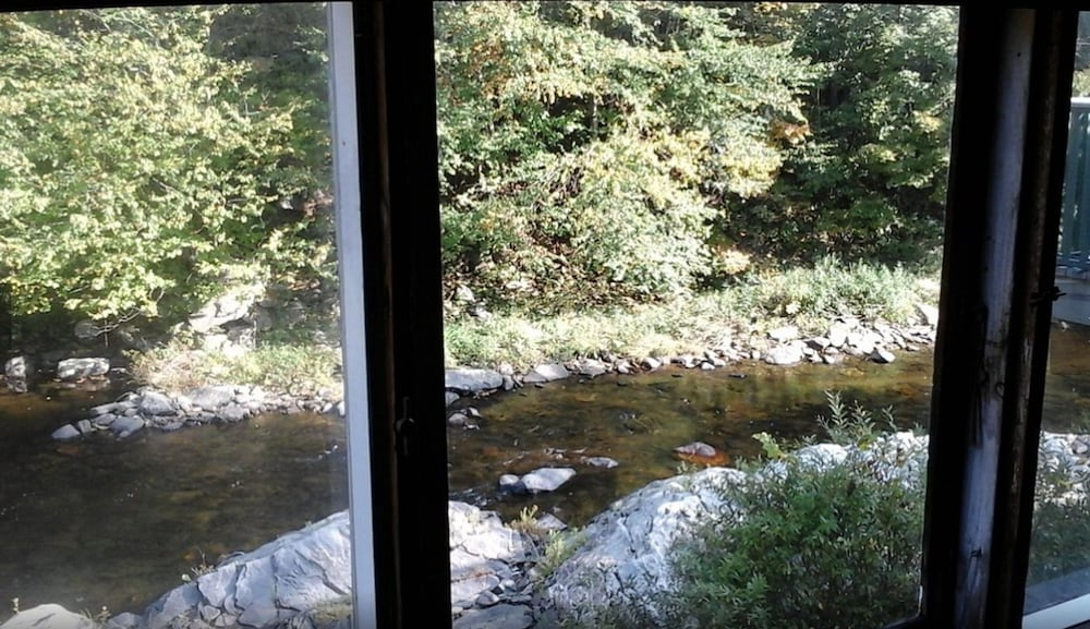 View from Room, Old Red Mill Inn
