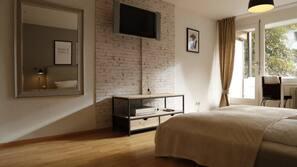 1 dormitorio y cunas o camas infantiles (de pago)