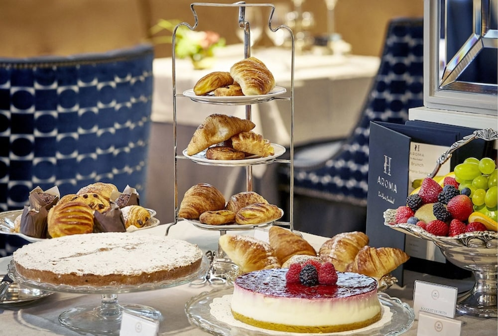 Breakfast buffet, Relais & Châteaux Heritage Madrid