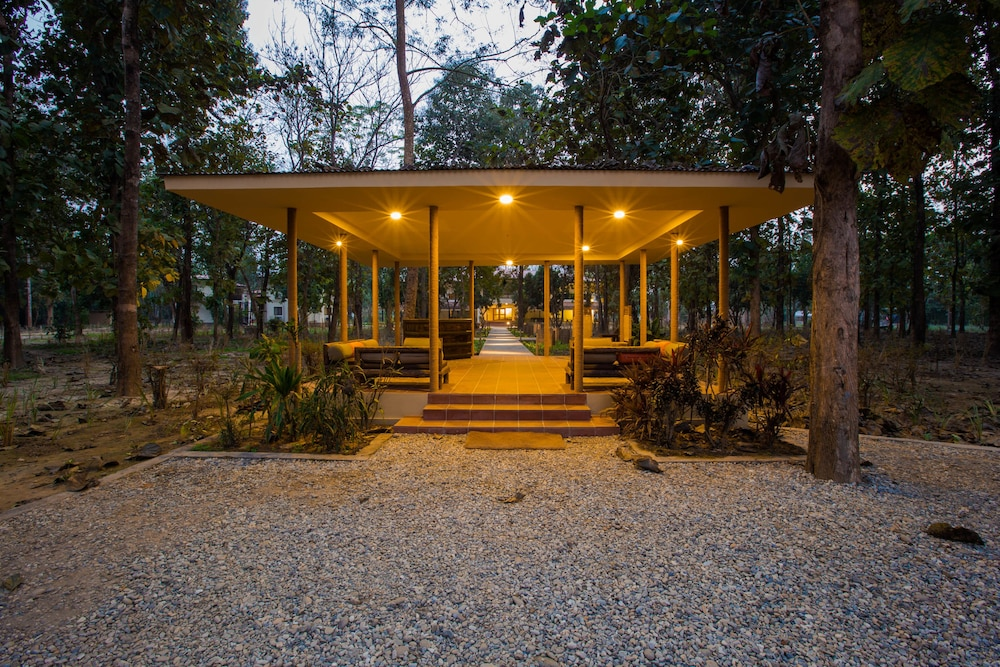 Property Grounds, Jagatpur Lodge - Chitwan National Park
