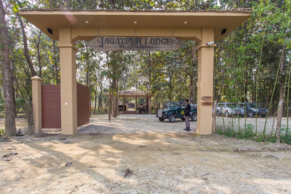Front of Property, Jagatpur Lodge - Chitwan National Park
