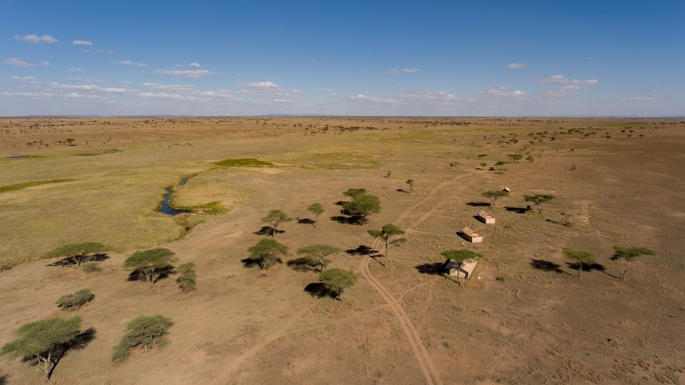 Aerial View, Mawe Luxury Tented Camp