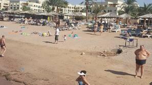 Private beach, scuba diving