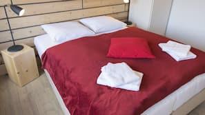 Hochwertige Bettwaren, Verdunkelungsvorhänge, Bügeleisen/Bügelbrett