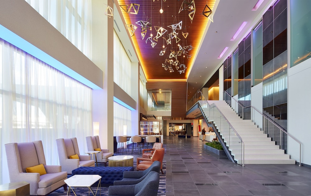 Lobby, InterContinental Minneapolis - St. Paul Airport, an IHG Hotel