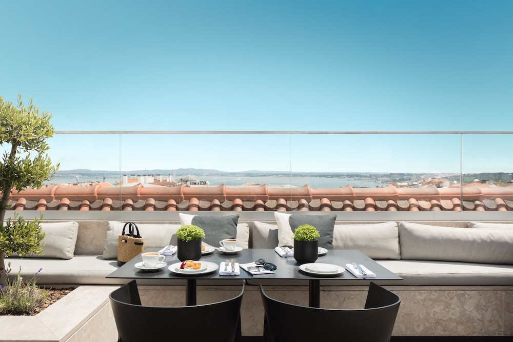 Rooftop terrace, The Lumiares Hotel & Spa - Small Luxury Hotels Of The World
