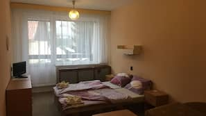 Blackout drapes, cribs/infant beds, free WiFi, bed sheets