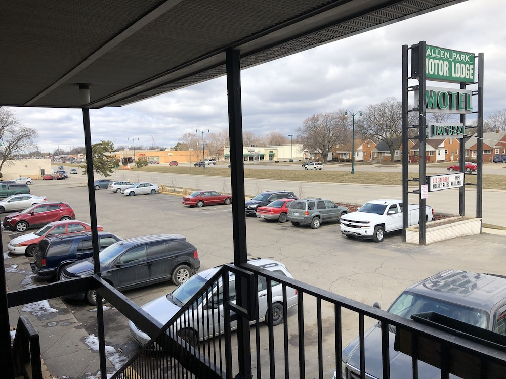 View from Property, Allen Park Motor Lodge