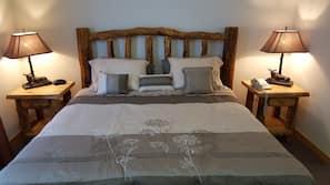 1 bedroom, premium bedding, free cribs/infant beds, free WiFi