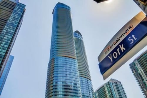 Check Expedia for Availability of EG Suites - York St Condos 1 near CN Tower offered by Short Term Stays