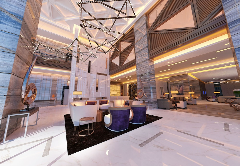 Lobby Sitting Area, Radisson Blu Hotel Dubai Waterfront