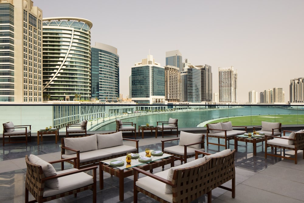 Terrace/Patio, Radisson Blu Hotel Dubai Waterfront